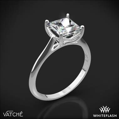 18k White Gold Vatche 1503 Alegria Solitaire Engagement Ring