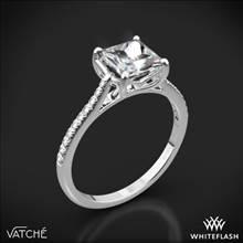 18k White Gold Vatche 1504 Alegria Pave Diamond Engagement Ring | Whiteflash