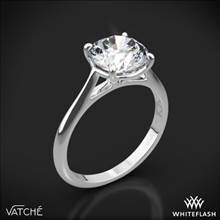 18k White Gold Vatche 1508 Venus Solitaire Engagement Ring | Whiteflash