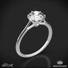 18k White Gold Vatche 1513 Felicity Solitaire Engagement Ring | Whiteflash