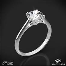 18k White Gold Vatche 1516 Inara Solitaire Engagement Ring | Whiteflash