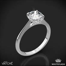 18k White Gold Vatche 1522 Bliss Solitaire Engagement Ring | Whiteflash