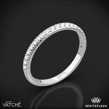 18k White Gold Vatche 1541 Serenity Diamond Wedding Ring