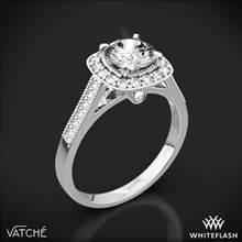 18k White Gold Vatche 180 Grace Diamond Engagement Ring | Whiteflash