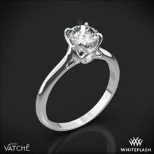 18k White Gold Vatche 194 Sisley Solitaire Engagement Ring | Whiteflash