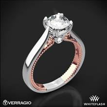 18k White Gold Verragio ENG-0418R-2T Couture Solitaire Engagement Ring | Whiteflash