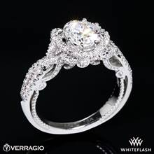 18k White Gold Verragio INS-7087R Insignia Diamond Engagement Ring | Whiteflash