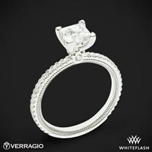 18k White Gold Verragio Tradition TR120P4 Diamond 4 Prong Engagement Ring | Whiteflash