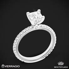 18k White Gold Verragio Tradition TR150P4 Diamond 4 Prong Engagement Ring | Whiteflash