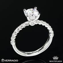 18k White Gold Verragio V-950-R2.0 Renaissance Diamond Engagement Ring | Whiteflash