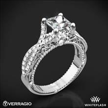 18k White Gold Verragio Venetian Lido AFN-5003-2 Diamond Engagement Ring | Whiteflash