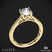 18k Yellow Gold A. Jaffe ME1569Q Seasons of Love Solitaire Engagement Ring | Whiteflash