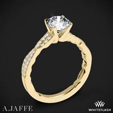 18k Yellow Gold A. Jaffe ME2036Q Seasons of Love Diamond Engagement Ring | Whiteflash