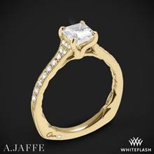 18k Yellow Gold A. Jaffe MES753Q Seasons of Love Diamond Engagement Ring | Whiteflash