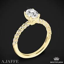 18k Yellow Gold A. Jaffe MES867 Seasons of Love Diamond Engagement Ring | Whiteflash