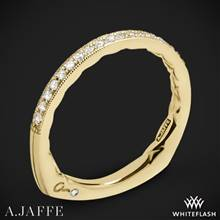 18k Yellow Gold A. Jaffe MRS753Q Seasons of Love Diamond Wedding Ring | Whiteflash