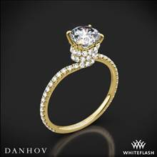 18k Yellow Gold Danhov AE107 Abbraccio Diamond Engagement Ring | Whiteflash