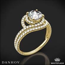 18k Yellow Gold Danhov AE162 Abbraccio Diamond Engagement Ring | Whiteflash