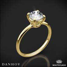 18k Yellow Gold Danhov CL130 Classico Solitaire Engagement Ring | Whiteflash