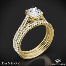 18k Yellow Gold Danhov LE133 Per Lei Diamond Wedding Set   Whiteflash