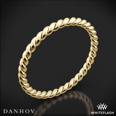 18k Yellow Gold Danhov ZB100 Eleganza Braided Wedding Ring