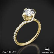 18k Yellow Gold Danhov ZE138 Eleganza Diamond Engagement Ring | Whiteflash