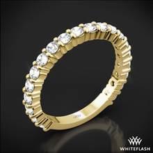 18k Yellow Gold Diamonds for an Eternity Three Quarter Diamond Wedding Ring | Whiteflash