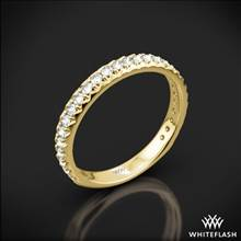 18k Yellow Gold Harmony Diamond Wedding Ring | Whiteflash