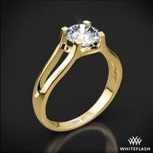 18k Yellow Gold Katie Solitaire Engagement Ring | Whiteflash