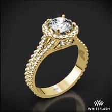 18k Yellow Gold Park Avenue Diamond Engagement Ring | Whiteflash