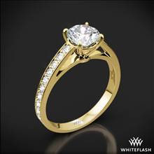 18k Yellow Gold Serendipity Diamond Engagement Ring | Whiteflash