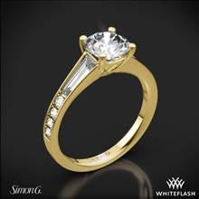 18k Yellow Gold Simon G. MR2220 Duchess Diamond Engagement Ring | Whiteflash