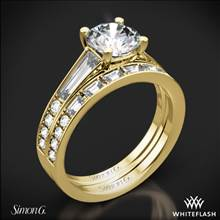 18k Yellow Gold Simon G. MR2220 Duchess Diamond Wedding Set | Whiteflash
