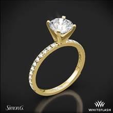 18k Yellow Gold Simon G. PR148 Passion Diamond Engagement Ring | Whiteflash