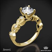 18k Yellow Gold Simon G. TR473 Duchess Diamond Engagement Ring | Whiteflash