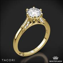 18k Yellow Gold Tacori 2651RD Simply Tacori Diamond Engagement Ring | Whiteflash