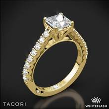 18k Yellow Gold Tacori 35-2PR Clean Crescent Diamond Engagement Ring | Whiteflash
