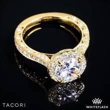 18k Yellow Gold Tacori HT2650RD RoyalT Diamond Engagement Ring | Whiteflash