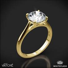 18k Yellow Gold Vatche 1508 Venus Solitaire Engagement Ring | Whiteflash