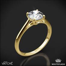 18k Yellow Gold Vatche 1516 Inara Solitaire Engagement Ring | Whiteflash