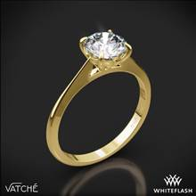 18k Yellow Gold Vatche 1522 Bliss Solitaire Engagement Ring | Whiteflash