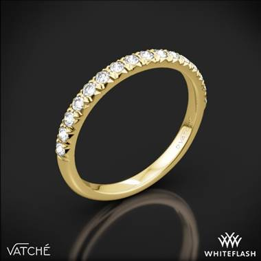 18k Yellow Gold Vatche 1533 Charis Pave Diamond Wedding Ring