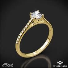 18k Yellow Gold Vatche 1535 Melody Diamond Engagement Ring   Whiteflash