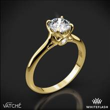 18k Yellow Gold Vatche 194 Sisley Solitaire Engagement Ring | Whiteflash