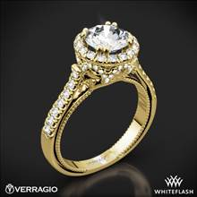 18k Yellow Gold Verragio ENG-0433R Couture Diamond Engagement Ring | Whiteflash