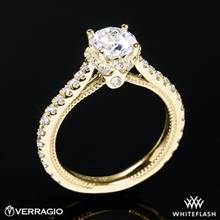 18k Yellow Gold Verragio ENG-0460R Couture Diamond Engagement Ring | Whiteflash