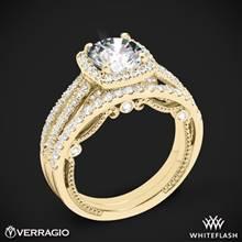 18k Yellow Gold Verragio INS-7069 Diamond Wedding Set | Whiteflash