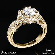18k Yellow Gold Verragio INS-7087R Insignia Diamond Engagement Ring | Whiteflash