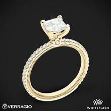 18k Yellow Gold Verragio Tradition TR120P4 Diamond 4 Prong Engagement Ring | Whiteflash