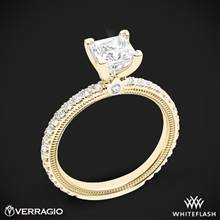 18k Yellow Gold Verragio Tradition TR150P4 Diamond 4 Prong Engagement Ring | Whiteflash